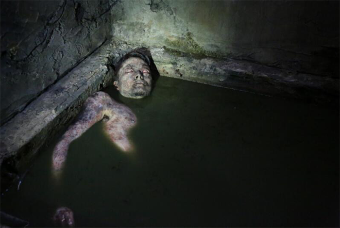 "Dead body from ""GEHENNA~Where Death Lives~"""